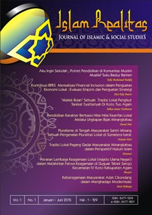 Journal Islam Realitas